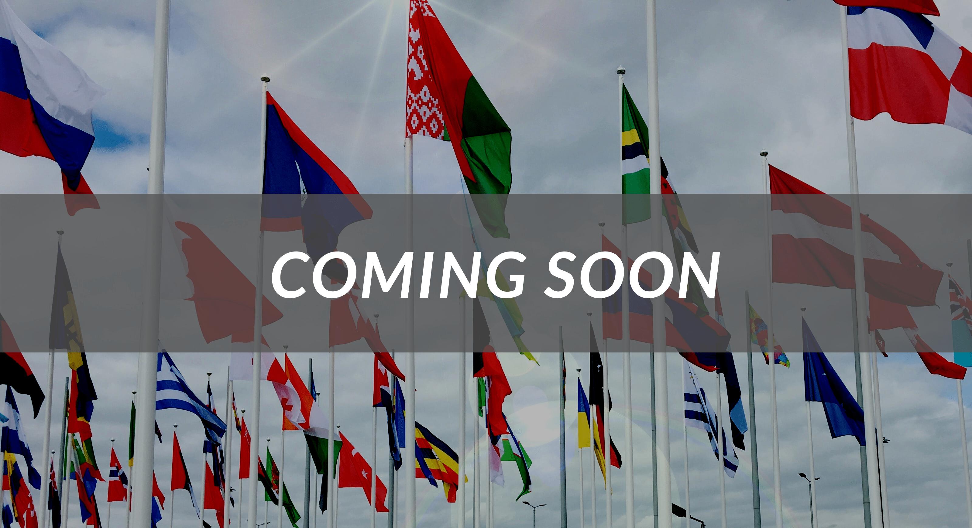 coming soon, worldwide courses