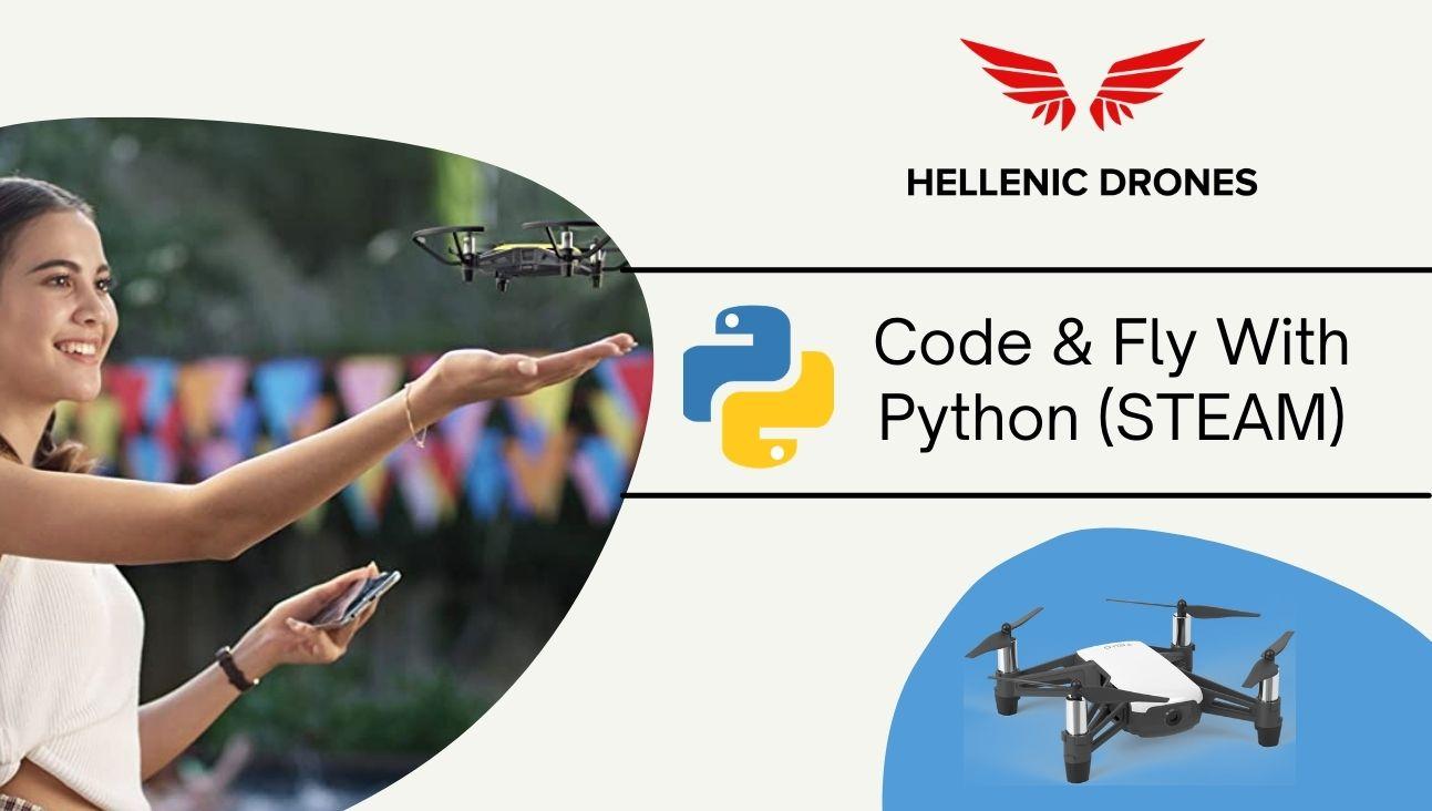 ΜΑΘΗΜΑΤΑ STEAM, code and fly with python